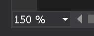Visual Studio Zoom
