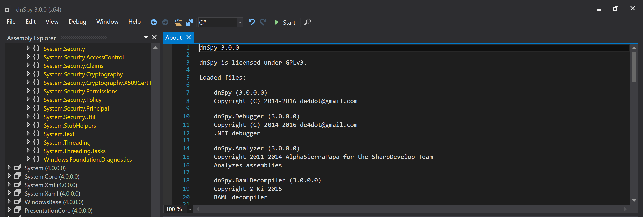 dnSpy - the one tool you will ever need* -  net blog - octal pl